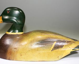 NICE MALLARD CARVED BY ZAN RUEST