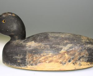 AFFORDABLE BLUEBILL HOLLOW DRAKE DECOY CARVED BY WILL SMITH